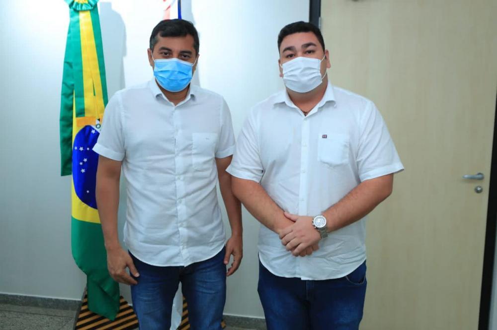 Em encontro com o governador Wilson Lima, vereador Alex Garcia apresenta demandas coletivas de Parintins