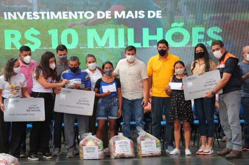 Governo encerra a entrega do Auxílio Enchente em Parintins e beneficia quase 10 mil famílias no município