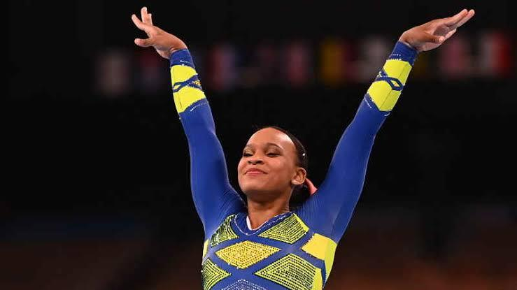 Rebeca Andrade conquista inédita prata para o Brasil na ginástica das Olimpíadas