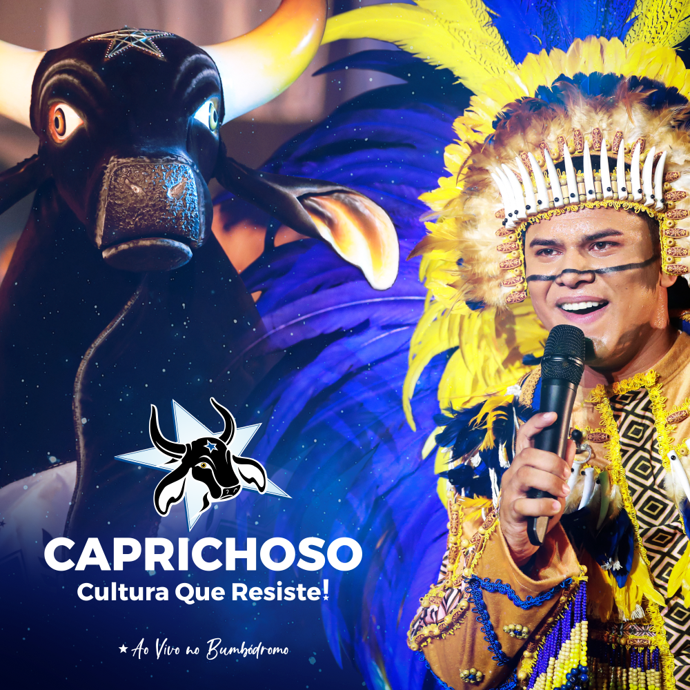 Caprichoso lança primeiro álbum digital ao vivo no Bumbódromo na voz de Patrick Araújo